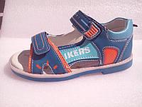 Босоножки, сандалии для мальчика, каблук Томаса, супинатор р.26 ТM Y-top