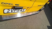 Накладка на задний бампер (изогнутая) VIVARO на Opel Vivaro  2001->  —  Турция