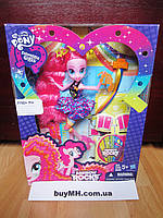 Кукла  Пинки Пай Рок причёска My Little Pony Equestria Girls Rainbow Rocks Pinkie Pie Rockin' Hairstyle