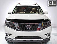 Дефлектор капота Nissan Pathfinder 2014+