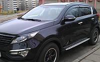 Kia Sportage пороги BMW STYLE