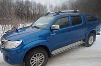 Рейлинги Toyota Hilux, фото 1