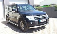 Защита бампера Mitsubishi Pajero Wagon 4, фото 1