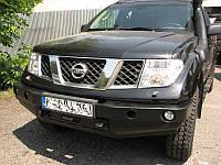 Силовой бампер Nissan Navara, фото 1