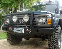 Силовой бампер Patrol Y60