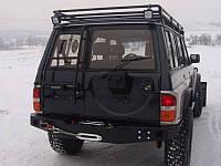 Задний бампер под лебедку Patrol Y60