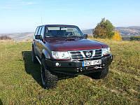 Cиловой бампер Patrol Y61