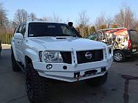 Cиловой бампер Patrol Y61 GU4