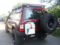 Задний силовой бампер Patrol Y61 GU4