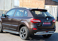 Защита заднего бампера Renault Koleos 2015+