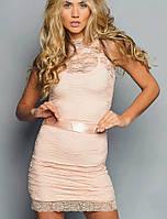 Гипюровое платье | Гипюр с бантиком sk