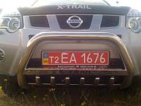 Кенгурятник с надписью X-Trail T31, фото 1