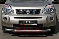Защита бампера Nissan X-Trail T31