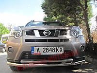 Защита бампера двойная Nissan X-Trail T31, фото 1