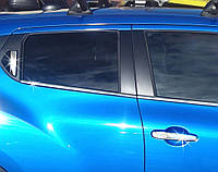 Хром на ручки Nissan Juke, фото 1