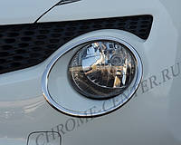 Хром фар Nissan Juke, фото 1
