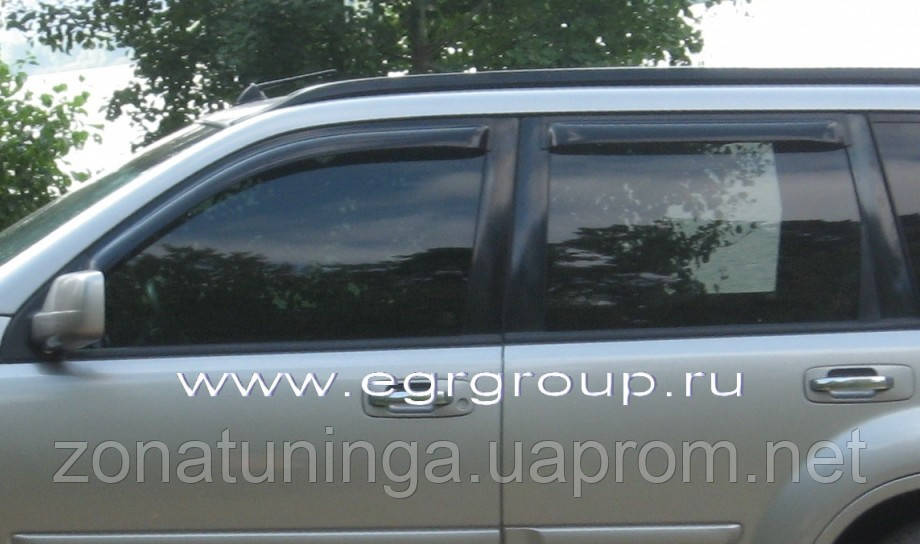 Дефлекторы окон EGR Nissan X-Trail T30