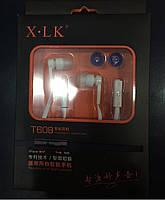 Вакуумные наушники X-LK T608 для всех типов смарфонов