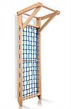 Гладиаторская сетка c турником  «Sport 7- 220» (сосна), фото 2
