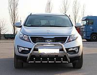 Кенгурятник с надписью Kia Sportage 2010+, фото 1