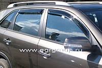 Дефлекторы окон EGR Kia Sorento 2010+