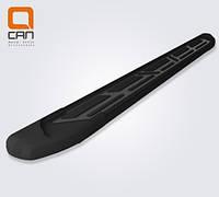 Пороги V2 Black Kia Sorento 2010+