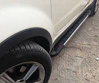 Пороги RedLine Mitsubishi Outlander 2012+, фото 1
