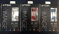 Вакуумные наушники TDK Image XC-222 разные цвета