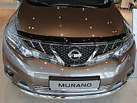 Дефлектора капота Sim Nissan Murano Z51 2008+