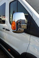 Хром на зеркала Ford Transit 2015+