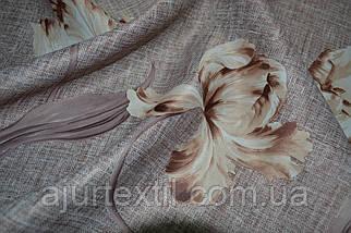 """Штора блекаут """"Переплетение цветов"""" 08, фото 3"""
