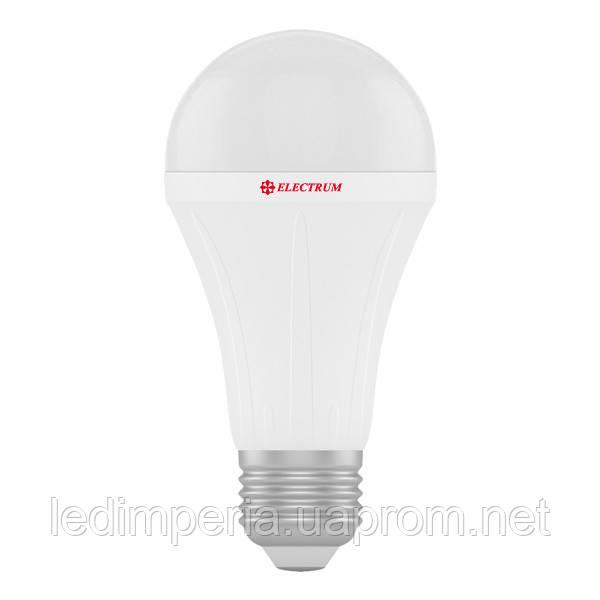 ELECTRUM  A60  LS-28 18W E27 3000K АЛЮМОПЛ. КОРП. A-LS-0441