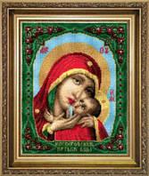 Набор для вышивки крестиком  Икона Образ Пресвятой Богородицы Касперовской