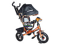 Трехколесный велосипед Crosser One с надувными колесами и фарой