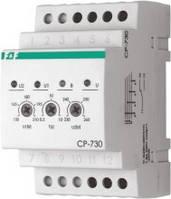 Реле напряжения трехфазное CP-730 150-260В 8А 3S (ДПФ-4)  F&F