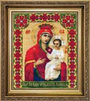 Набор для вышивки крестиком Икона Образ Пресвятой Богородицы Избавительница