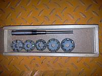 Набор зенкеров для сёдел клапанов ВАЗ 2101-2107,2108(1500), АЗЛК (Днепропетровск)