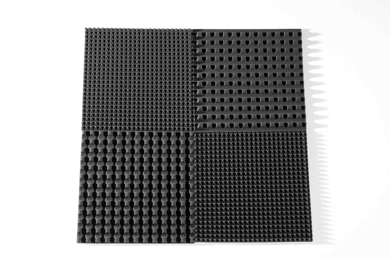 Акустическая панель Ecosound Pyramid S из акустического поролона 30мм 50х50 см
