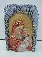 Матір Божа з Ісусиком підсвічник малий