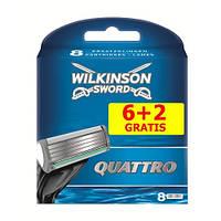 Wilkinson Sword Quattro (6+2) сменные картриджи оригинал в упаковке производство Германия