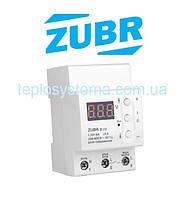 Реле напряжения ZUBR D25t  c термозащитой (DS Electronics, Украина)