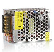 Блок питания 12v 2а 25вт в перфорированном корпусе для светодиодной ленты