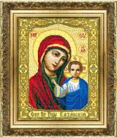 Набор для вышивки крестиком  Икона Божьей Матери Казанская
