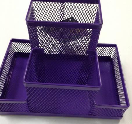 """Подставка настольная """"ZiBi"""", металл, фиолетовый, ZB3116-07, (10*15). Цена розницы 69 гривен., фото 2"""