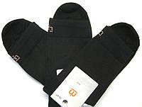 Летние в сетку мужские носки черные