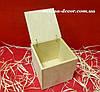Короб с крышкой на бечевке 16*15.5*16см, фото 2