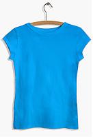 """Футболка женская """"Ego"""" с О-образным вырезом WFA 100% хлопок цвет голубой"""