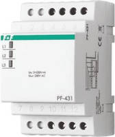 Автоматический переключатель фаз PF-431 3×400 В+N 16A 3S (АПФ-431 ЕА ФИФ F&F