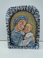 Матір Божа з Ісусиком підсвічник великий