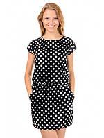 Платье летнее черно-белое Ника, фото 1